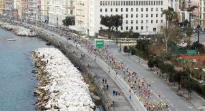 Napoli City Half Marathon via Caracciolo